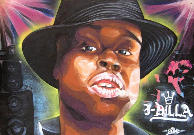 Jay Dee Tribute Portrait